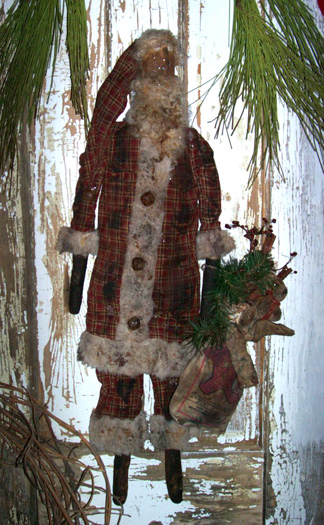 PRiMiTiVe PLAiD HoMeSPuN SaNTa - E Pattern